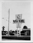 Beefy King Sign