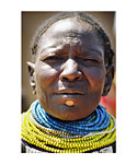 Kenya (Woman with beads)