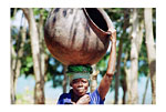 Tanzania (Woman carrying pot)
