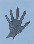 The Hand - Blue