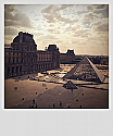 The Louvre - Polariod (left)