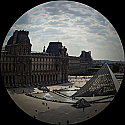 The Louvre - Fisheye