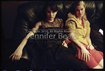 Mia & Leisha on the Couch