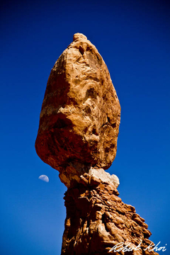Balanced Moon Rock